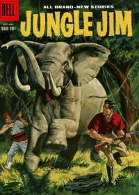 Cover Thumbnail for Jungle Jim (Dell, 1954 series) #18
