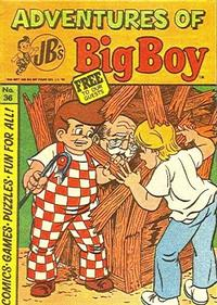 Cover Thumbnail for Adventures of Big Boy (Paragon Products, 1976 series) #36