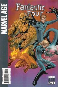 Cover Thumbnail for Marvel Age Fantastic Four (Marvel, 2004 series) #7