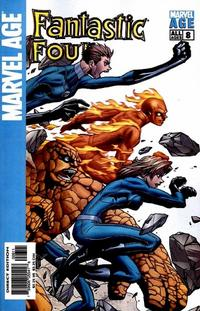 Cover Thumbnail for Marvel Age Fantastic Four (Marvel, 2004 series) #8