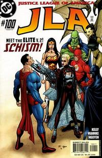 Cover for JLA (DC, 1997 series) #100