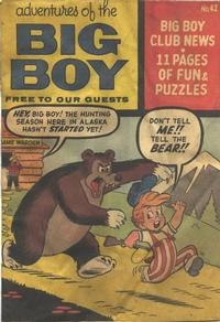 Cover Thumbnail for Adventures of the Big Boy (Webs Adventure Corporation, 1957 series) #42 [East]
