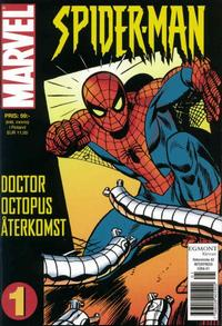 Cover Thumbnail for Spider-Man [pocket] (Egmont, 2004 series) #1