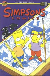 Cover Thumbnail for Simpsons Comics (Bongo, 1993 series) #13