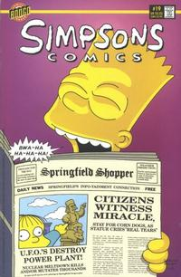 Cover Thumbnail for Simpsons Comics (Bongo, 1993 series) #19