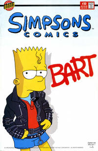 Cover Thumbnail for Simpsons Comics (Bongo, 1993 series) #20