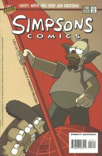 Cover for Simpsons Comics (Bongo, 1993 series) #28
