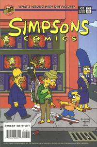 Cover Thumbnail for Simpsons Comics (Bongo, 1993 series) #33