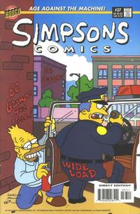 Cover Thumbnail for Simpsons Comics (Bongo, 1993 series) #37