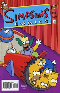 Cover Thumbnail for Simpsons Comics (Bongo, 1993 series) #40