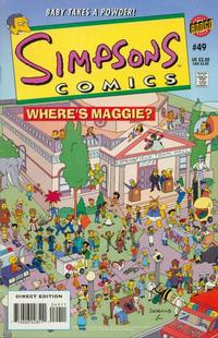 Cover for Simpsons Comics (Bongo, 1993 series) #49