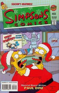 Cover Thumbnail for Simpsons Comics (Bongo, 1993 series) #52