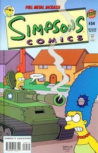 Cover Thumbnail for Simpsons Comics (Bongo, 1993 series) #54