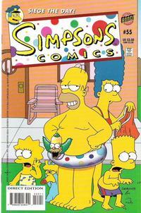 Cover Thumbnail for Simpsons Comics (Bongo, 1993 series) #55