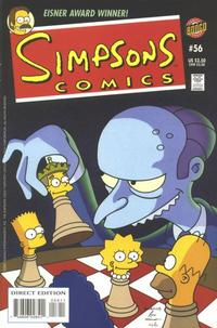 Cover Thumbnail for Simpsons Comics (Bongo, 1993 series) #56