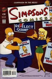 Cover Thumbnail for Simpsons Comics (Bongo, 1993 series) #58