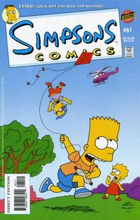 Cover Thumbnail for Simpsons Comics (Bongo, 1993 series) #61