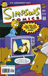 Cover Thumbnail for Simpsons Comics (Bongo, 1993 series) #64