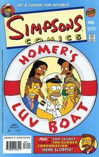 Cover Thumbnail for Simpsons Comics (Bongo, 1993 series) #66
