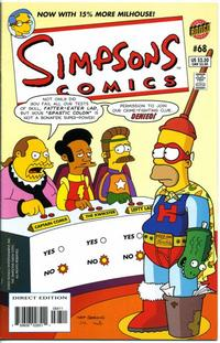 Cover Thumbnail for Simpsons Comics (Bongo, 1993 series) #68