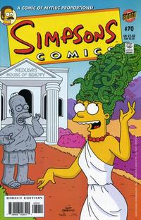 Cover Thumbnail for Simpsons Comics (Bongo, 1993 series) #70