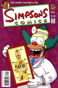 Cover Thumbnail for Simpsons Comics (Bongo, 1993 series) #74