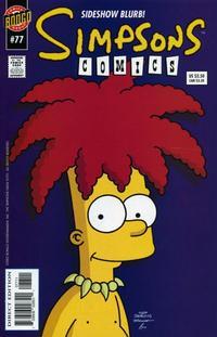 Cover Thumbnail for Simpsons Comics (Bongo, 1993 series) #77