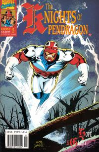 Cover Thumbnail for The Knights of Pendragon (Marvel UK, 1990 series) #5