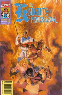 Cover Thumbnail for The Knights of Pendragon (Marvel UK, 1990 series) #12