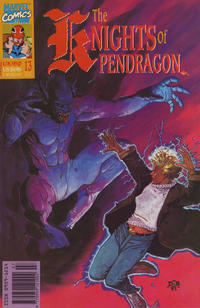 Cover Thumbnail for The Knights of Pendragon (Marvel UK, 1990 series) #13