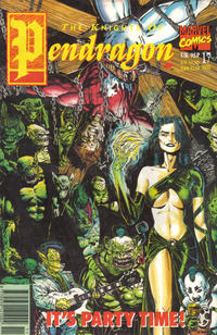 Cover Thumbnail for The Knights of Pendragon (Marvel UK, 1990 series) #17
