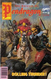 Cover Thumbnail for The Knights of Pendragon (Marvel UK, 1990 series) #18