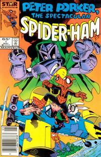 Cover Thumbnail for Peter Porker, the Spectacular Spider-Ham (Marvel, 1985 series) #1 [newsstand]