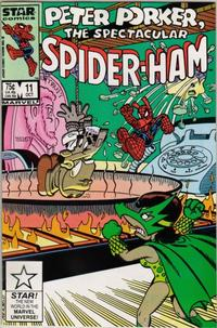Cover Thumbnail for Peter Porker, the Spectacular Spider-Ham (Marvel, 1985 series) #11 [Direct Edition]