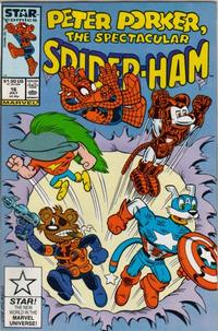 Cover Thumbnail for Peter Porker, the Spectacular Spider-Ham (Marvel, 1985 series) #16 [Direct Edition]