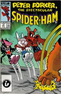 Cover for Peter Porker, the Spectacular Spider-Ham (Marvel, 1985 series) #17