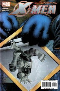 Cover Thumbnail for Astonishing X-Men (Marvel, 2004 series) #4 [Beast Cover]