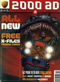 Cover Thumbnail for 2000 AD (Egmont Fleetway Ltd, 1996 series) #1014