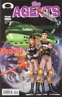Cover Thumbnail for The Agents (Image, 2003 series) #2