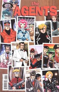 Cover Thumbnail for The Agents (Image, 2003 series) #6