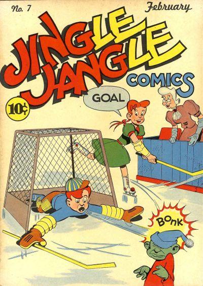 Cover for Jingle Jangle Comics (Eastern Color, 1942 series) #7