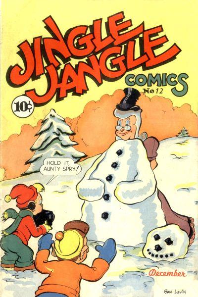 Cover for Jingle Jangle Comics (Eastern Color, 1942 series) #12