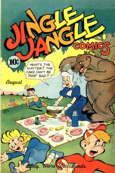 Cover for Jingle Jangle Comics (Eastern Color, 1942 series) #16