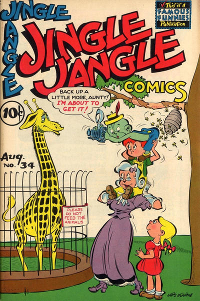 Cover for Jingle Jangle Comics (Eastern Color, 1942 series) #34