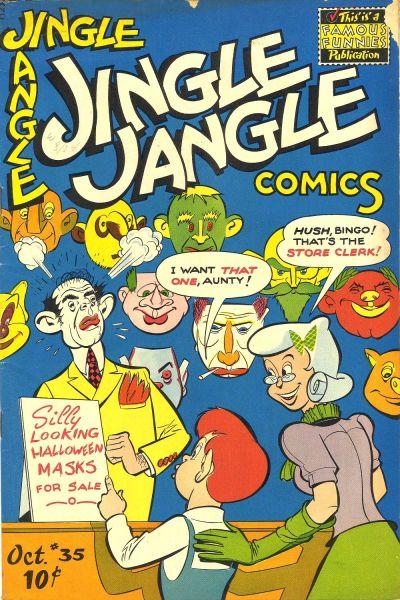 Cover for Jingle Jangle Comics (Eastern Color, 1942 series) #35