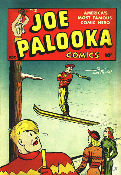 Cover for Joe Palooka Comics (Harvey, 1945 series) #3