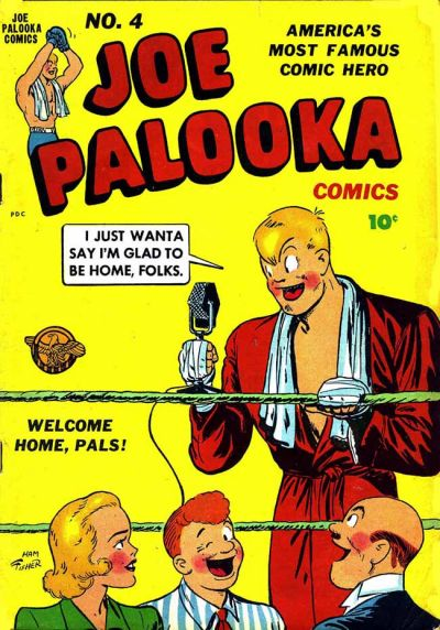 Cover for Joe Palooka Comics (Harvey, 1945 series) #4