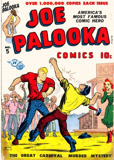 Cover for Joe Palooka Comics (Harvey, 1945 series) #5