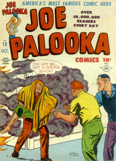 Cover for Joe Palooka Comics (Harvey, 1945 series) #13