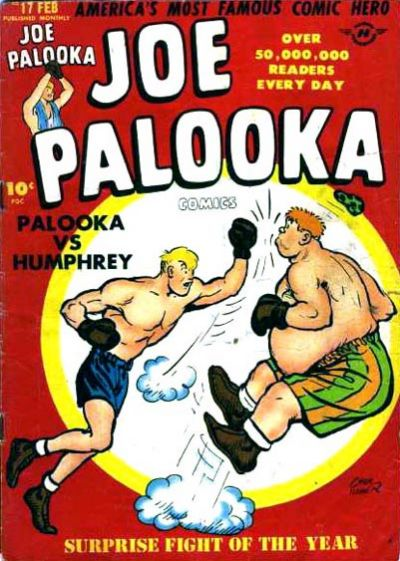 Cover for Joe Palooka Comics (Harvey, 1945 series) #17